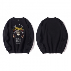 <p>Cool Hoodie Rock and Roll Guns and Roses Hooded Coat</p>
