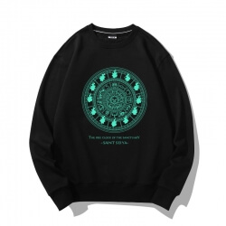 Flint Clock Coat Saint Seiya Sweatshirt