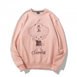 One Piece Tony Tony Chopper Sweatshirt Coat