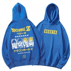 Vegeta Tops Dragon Ball Hoodie