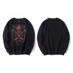 <p>Cotton hooded sweatshirt Deadpool Hoodies</p>