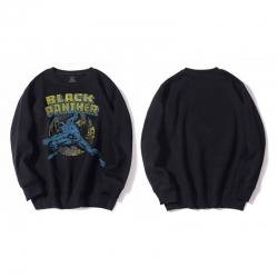 <p>Black Panther Sweatshirt Movie Black Hoodie</p>