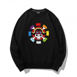 Pirate Logo Hoodie One Piece Sweater