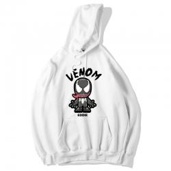 <p>Black Hoodie Marvel Venom Hooded Coat</p>