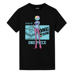 One Piece Brook T-Shirts Oversized Anime Shirt