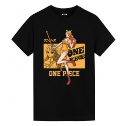 Nami T-Shirt One Piece Anime Graphic T Shirts