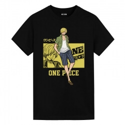 Vinsmoke Sanji Tee Shirt One Piece Plus Size Anime Clothes