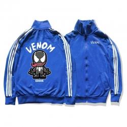 <p>Venom Hooded Coat Marvel Superhero Cotton Coat</p>
