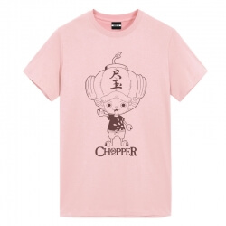 One Piece Tony Tony Chopper T-Shirts Anime Girl Shirt