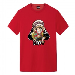 One Piece Luffy Tshirt Anime Graphic Tees