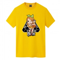 Nami Tee Shirt One Piece Japanese Anime T Shirts