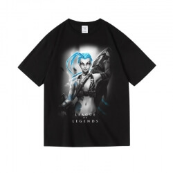 LOL Jinx T-shirt League of Legends Khada Jhin Tee