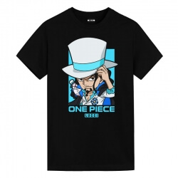 Rob Lucci T-Shirt One Piece Anime Printed T Shirts