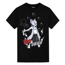 Obito Uchiha Tom T-Shirt Tom and Jerry Japanese Anime T Shirts