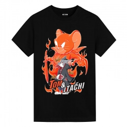 Tom and Jerry Uchiha Itachi Tom Tshirt Anime Shirts Cheap