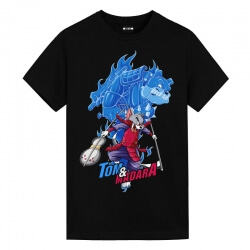 Tom and Jerry Madara Uchiha Tom Shirt Cute Anime Shirts