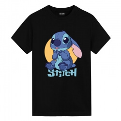 Lilo & Stitch smiley Tshirts Disney Couple Shirts