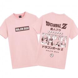 Dragon Ball Majin Buu Shirts Mens Anime Shirts
