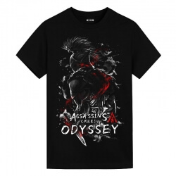 Quality Assassin's Creed Black tee Shirt