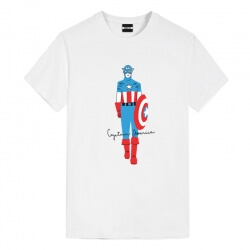 Captain America Tshirts Marvel T Shirts For Ladies