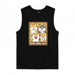 Cute Dog Doge Tank Tops Tees