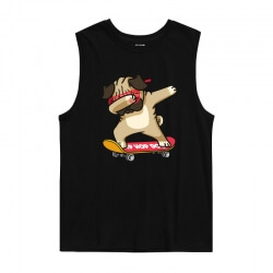 Hip Hop Tee Tank Tops Dog