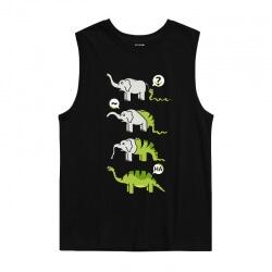Snake Swallow Elephant Tank Tops T-Shirts