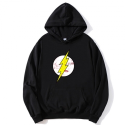<p>The Big Bang Theory The Flash Coat Black Hooded Coat</p>