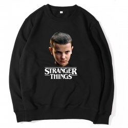 <p>Stranger Things Coat Black Sweatshirt</p>
