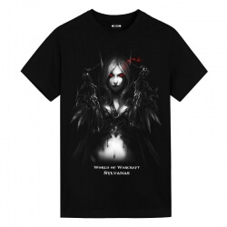 World of Warcraft WOW Sylvanas Tshirts