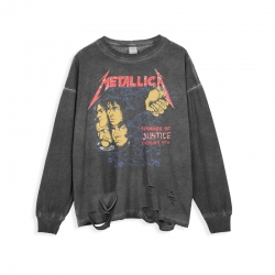 <p>Rock N Roll Metallica Tee Cotton T-Shirt</p>