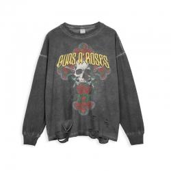 <p>Rock Guns N&#039; Roses Tees Ripped Retro Style T-Shirt</p>