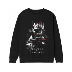LOL Khada Jhin Hoodie League of Legends Khada Jhin Twisted Fate Sweatshirt