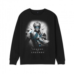 LOL Ezreal Hoodie League of Legends Ezreal Yuumi Sweatshirt