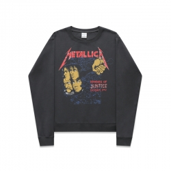 <p>Rock and Roll Metallica Tops Cool Hoodie</p>