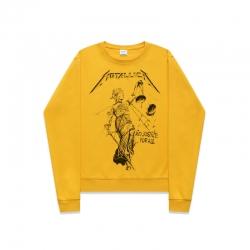 <p>Personalised Hoodie Rock Metallica Sweatshirt</p>