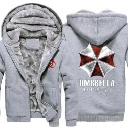 <p>Resident Evil Umbrella Winter Warm Hoodies</p>