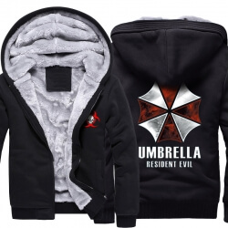Resident Evil Umbrella Winter Warm Hoodies