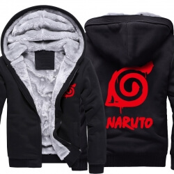 Naruto Hatake Kakashi Thick Hoodies For Winter