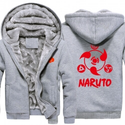 <p>Naruto Sharingan Logo Warm Hoodies For Winter Mens</p>