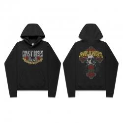 <p>Cotton Sweatshirt Music Guns and Roses hooded sweatshirt</p>