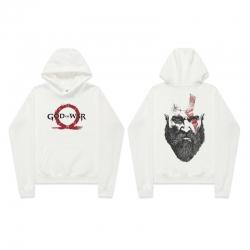 Quality God of War Kratos Hoodie Black Hooded Sweatshirts
