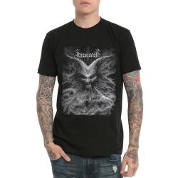 Abazagorath Heavy Metal Rock Print T-Shirt Black