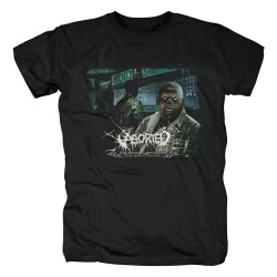 Aborted Band T-Shirt Belgium Metal Punk Rock Tshirts