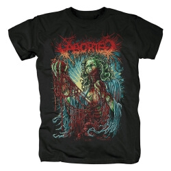 Aborted Tee Shirts Belgium Metal Rock T-Shirt