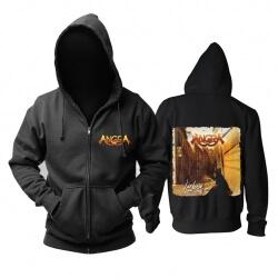Angra Lisbon Hoodie Brazil Metal Music Sweatshirts