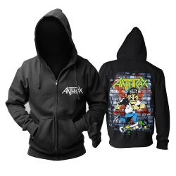 Anthrax Hoodie Us Hard Rock Punk Rock Band Sweatshirts