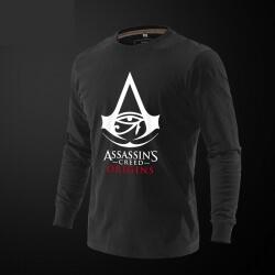 Assassin's Creed Origins Tee Red Long Sleeve Tshirt