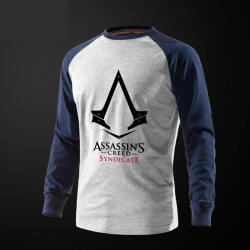 Assassin's Creed Syndicate Tshirt Grey Long Sleeve Tee
