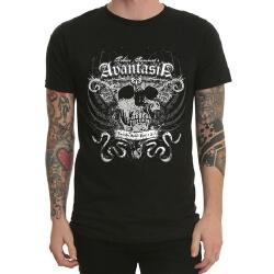 Avantasia Band Rock T-Shirt Black Heavy Metal
